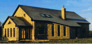House in Donegal Sandstone